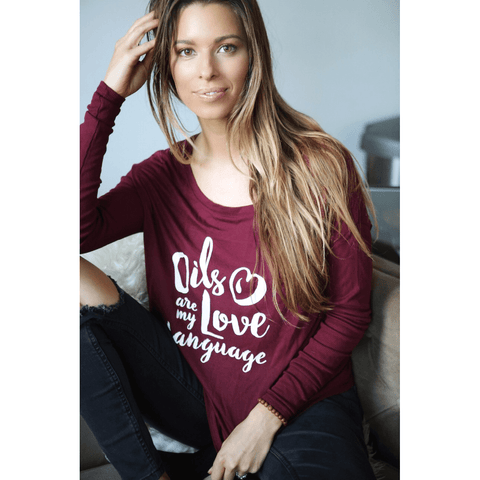 All Drapy Long Sleeve Women's Tops
