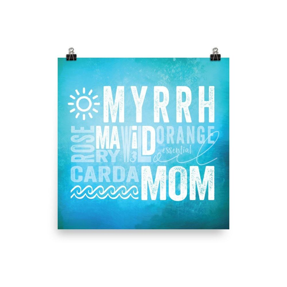 Museum-quality Print  - Myrrh Maid Mom Essential Oil Style young living tshirts funny oil shirts popular oil shirts doterra tshirts convention shirts