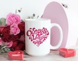 15oz Mug - Valentine Wishes