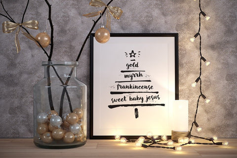 8 x 10 Print - Christmas Gifts (Digital Download)