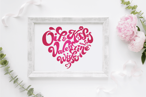 8 x 10 Print - Valentine Wishes (Digital Download)