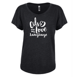 Love Language (GOLD INK)  - Dolman (Outlet Product)