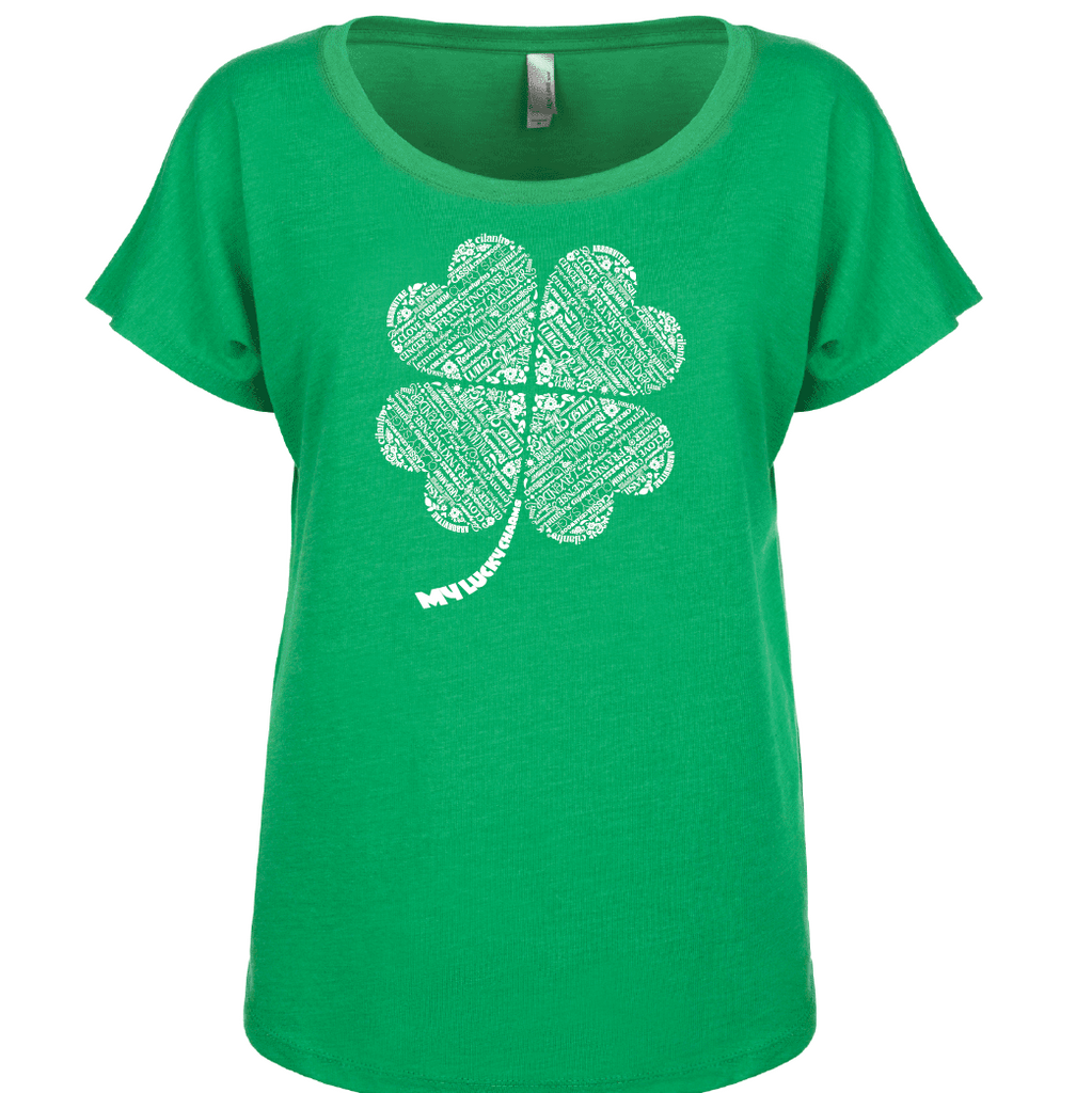 My Lucky Charms (St. Patricks) - Dolman Essential Oil Style young living tshirts funny oil shirts popular oil shirts doterra tshirts convention shirts