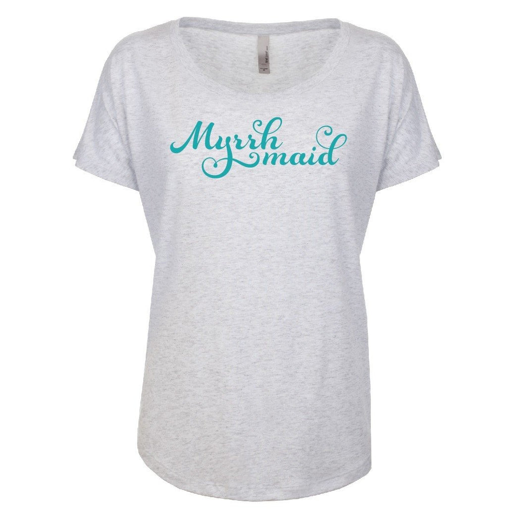Myrrh Maid - Dolman Essential Oil Style young living tshirts funny oil shirts popular oil shirts doterra tshirts convention shirts
