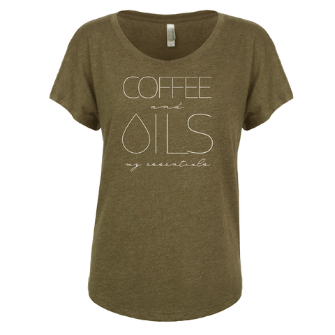 COFFEE and OILS - Dolman