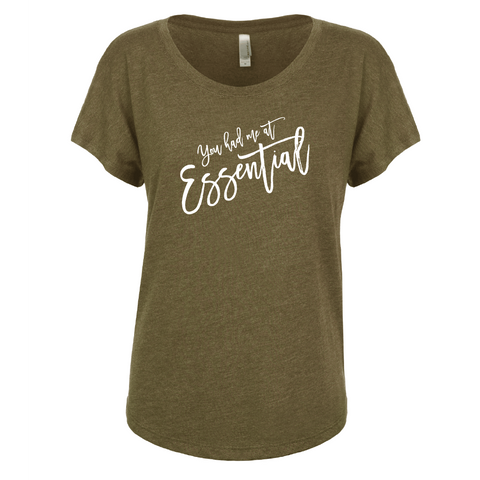 You had me at Essential - Dolman