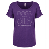 DOGS and OILS: my essentials  DOLMAN Essential Oil Style young living tshirts funny oil shirts popular oil shirts doterra tshirts convention shirts