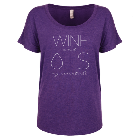 WINE and OILS: my essentials - Dolman