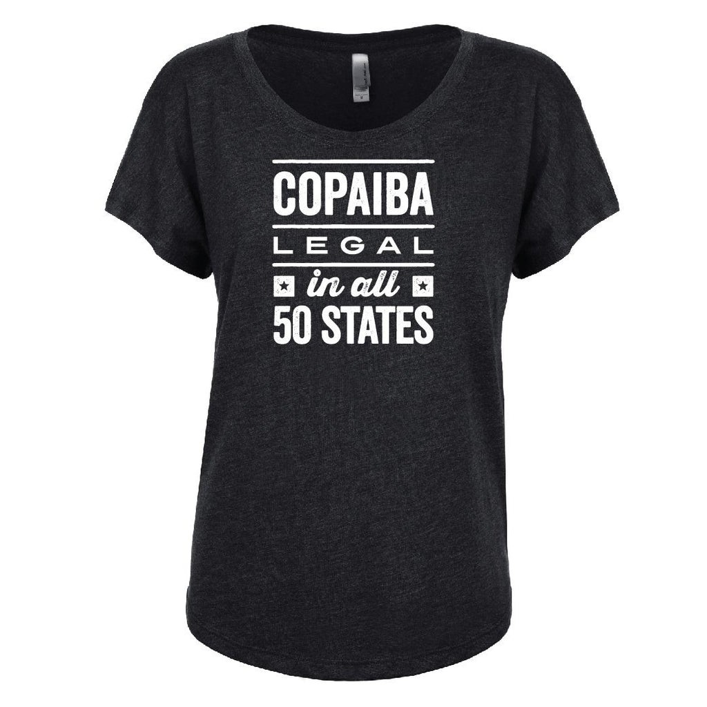 COPAIBA: Legal in all 50 States - Dolman Essential Oil Style young living tshirts funny oil shirts popular oil shirts doterra tshirts convention shirts