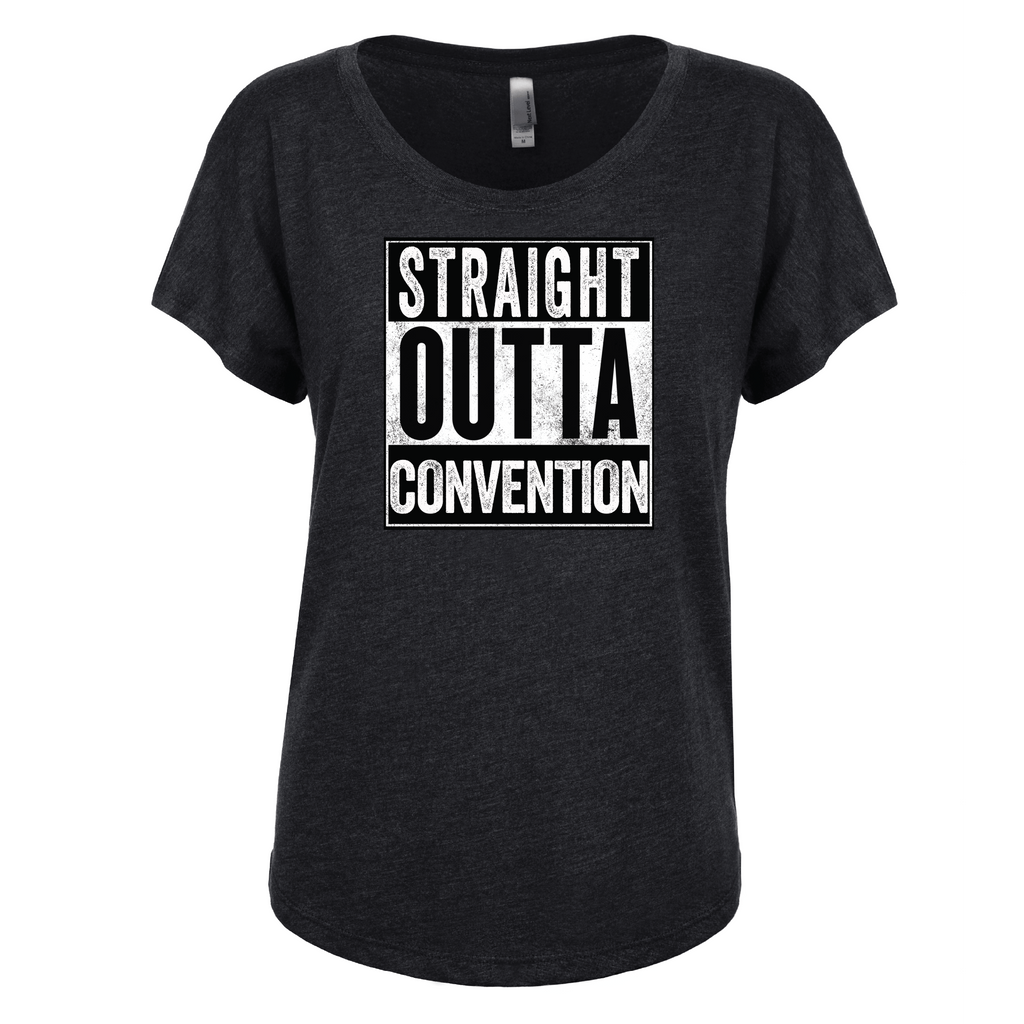 Straight Outta Convention - Dolman Essential Oil Style young living tshirts funny oil shirts popular oil shirts doterra tshirts convention shirts
