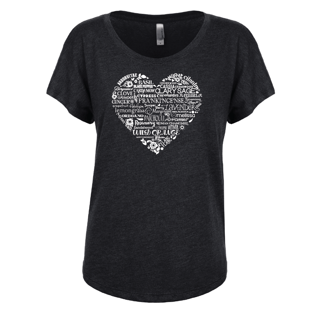 Whimsical Heart - Dolman Essential Oil Style young living tshirts funny oil shirts popular oil shirts doterra tshirts convention shirts