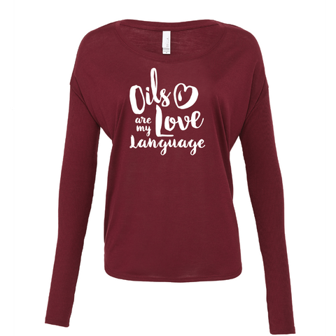 Love Language - Drapey 2x1 Long Sleeve Top