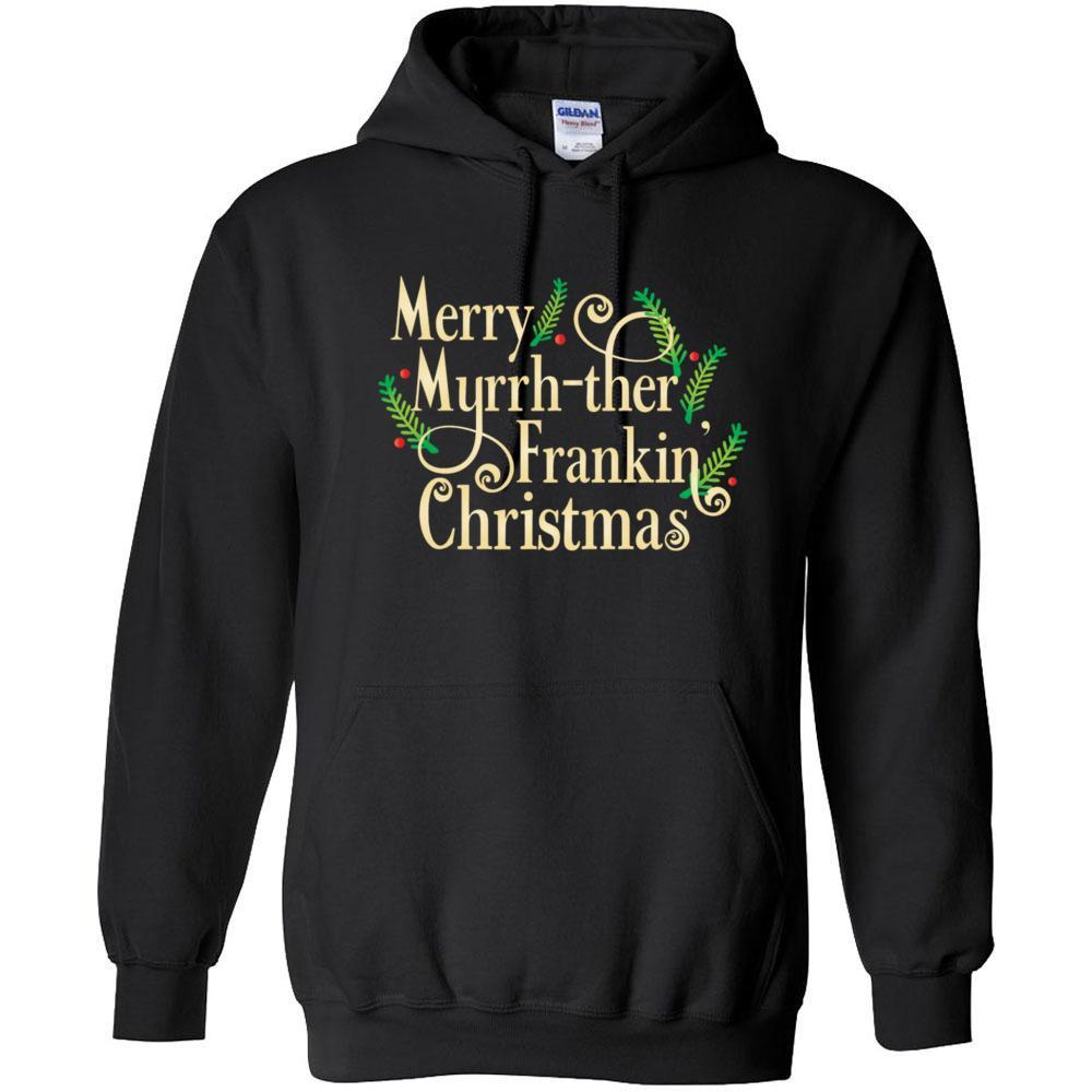 Merry MF xmas - Heavy Blend Hooded Sweatshirt Essential Oil Style young living tshirts funny oil shirts popular oil shirts doterra tshirts convention shirts