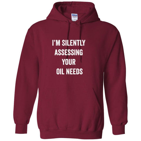 I'm Silently Assessing  - Hoodie Sweatshirt | 8 Colors | up to 5XL