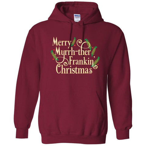 Merry Myrrh-ther Frankin' Christmas - Hoodie Sweatshirt | 8 Colors | up to 5XL