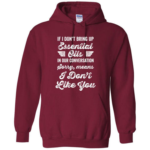 Sorry - Hoodie Sweatshirt | 12 Colors | up to 5XL