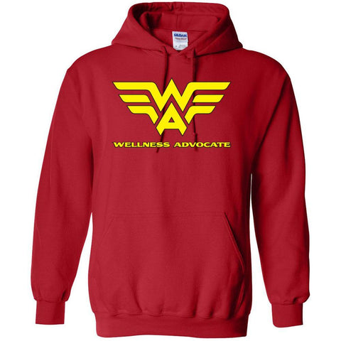 AKA Wellness Advocate - Hoodie Sweatshirt | up to 5XL