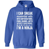 NINJA - Hoodie Sweatshirt | up to 5XL Essential Oil Style young living tshirts funny oil shirts popular oil shirts doterra tshirts convention shirts