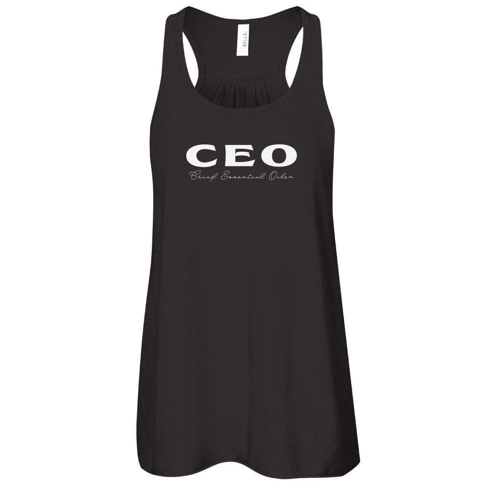 CEO - TANK Essential Oil Style young living tshirts funny oil shirts popular oil shirts doterra tshirts convention shirts