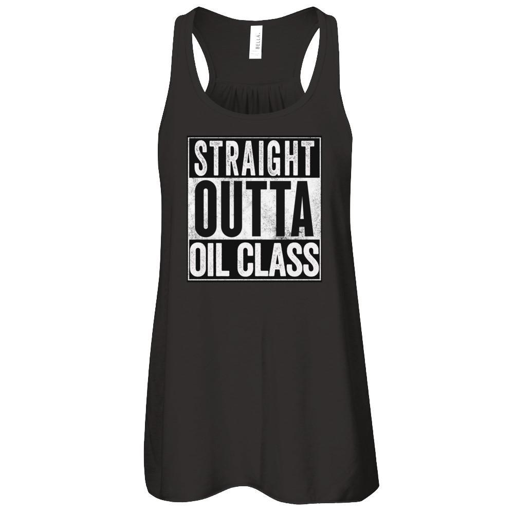 STRAIGHT OUTTA OIL CLASS - Tank Essential Oil Style young living tshirts funny oil shirts popular oil shirts doterra tshirts convention shirts