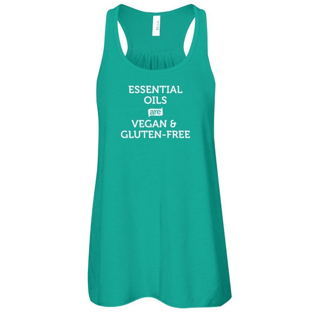 VEGAN & GLUTEN-FREE  -  Tank Essential Oil Style young living tshirts funny oil shirts popular oil shirts doterra tshirts convention shirts