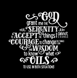 Serenity (oil) Prayer - Tank Essential Oil Style young living tshirts funny oil shirts popular oil shirts doterra tshirts convention shirts