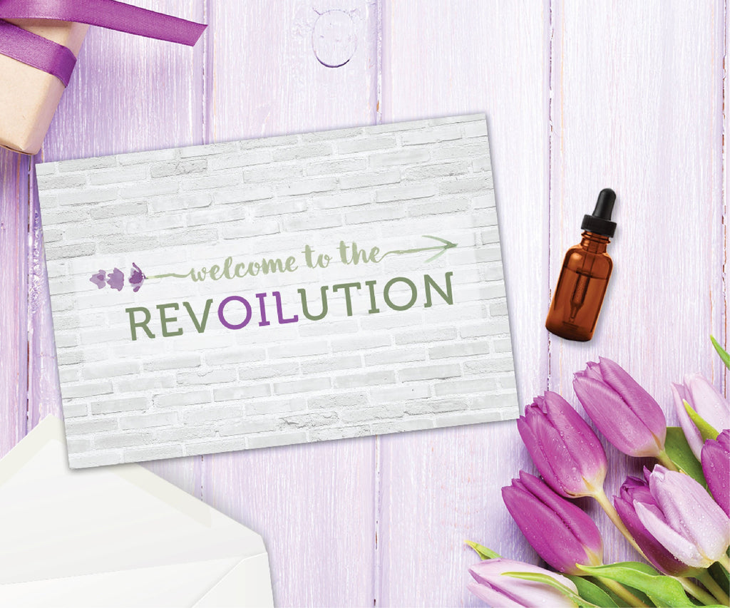 Essential Oil Greeting Cards - Welcome to the RevOILution | 5pk, 10pk, 25pk, 50pk Essential Oil Style young living tshirts funny oil shirts popular oil shirts doterra tshirts convention shirts