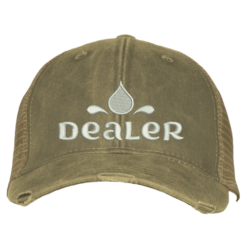 Distressed Trucker Hat - Dealer