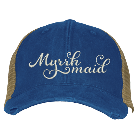 Distressed Trucker Hat - Myrrh Maid