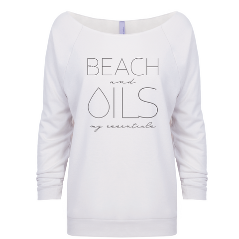 •  BEACH and OILS: my essentials - 3/4 Sleeve Raglan (Outlet)