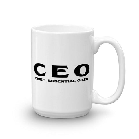 15oz Mug - CEO: Chief Essential Oiler