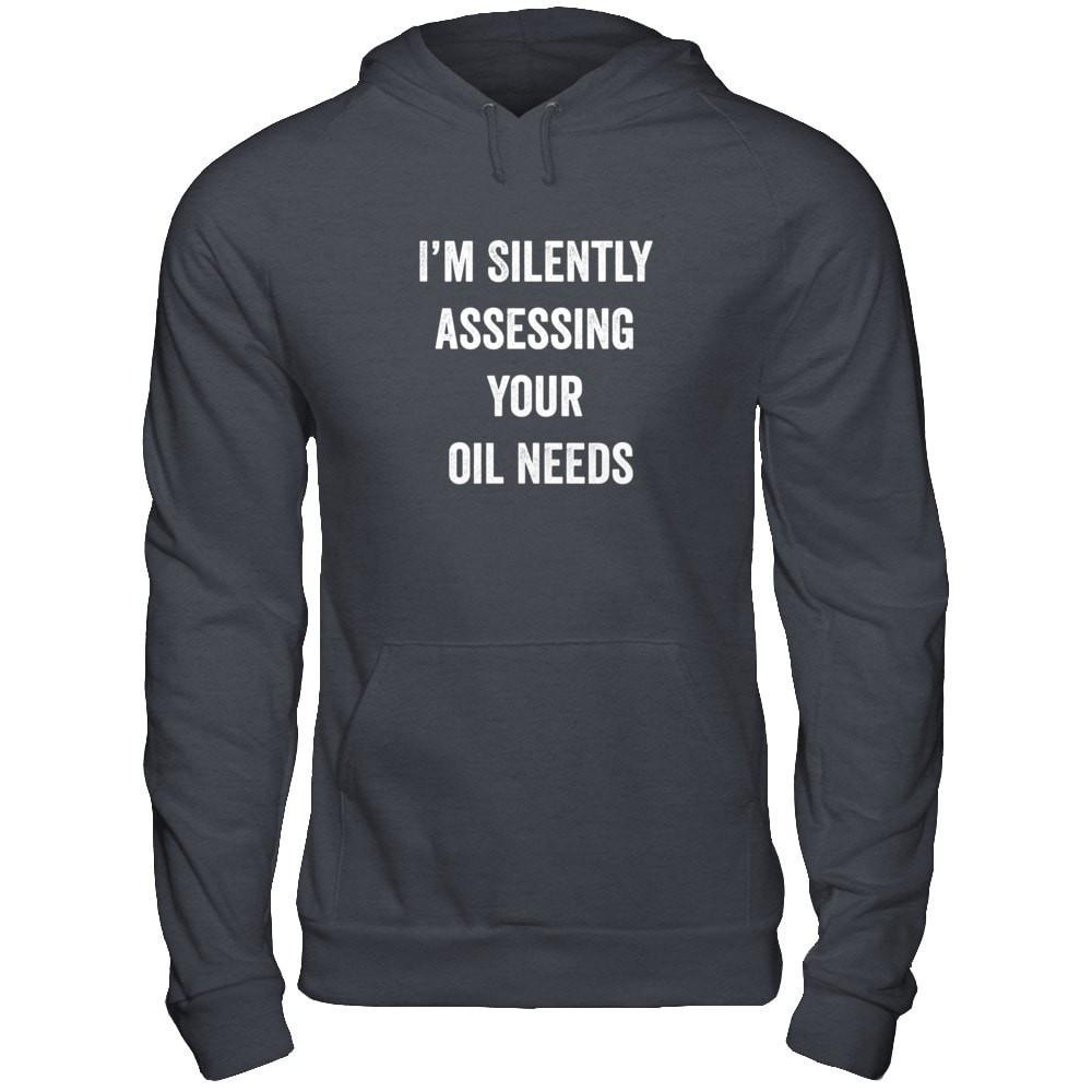 I'm Silently Assessing - Unisex Pullover Hoodie Essential Oil Style young living tshirts funny oil shirts popular oil shirts doterra tshirts convention shirts