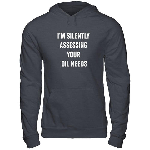 I'm Silently Assessing - Unisex Pullover Hoodie
