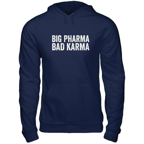 BIG PHARMA • BAD KARMA - Unisex Pullover Hoodie