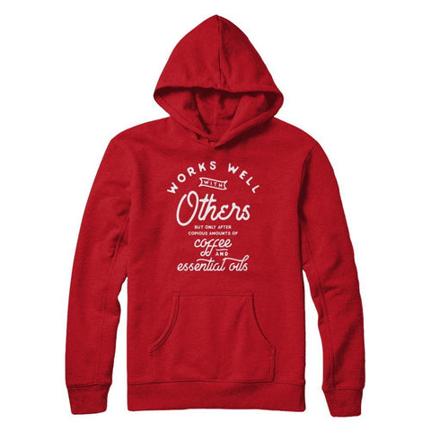 Works Well with Others - Unisex Pullover Hoodie