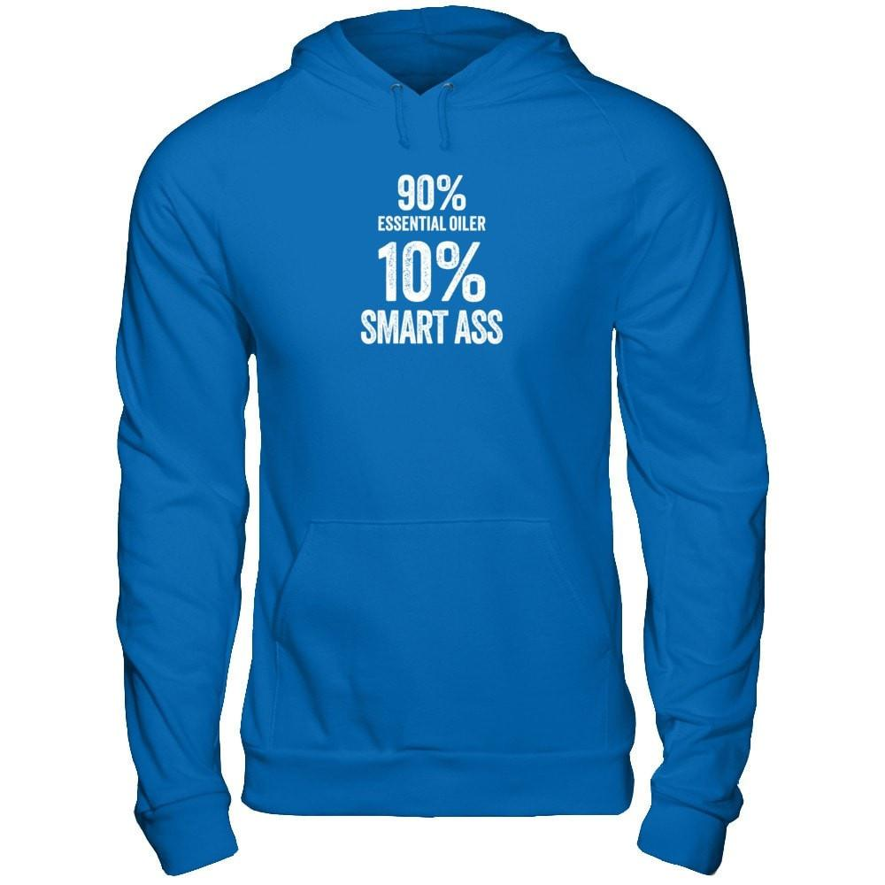 10% Percent SMART ASS - Unisex Pullover Hoodie Essential Oil Style young living tshirts funny oil shirts popular oil shirts doterra tshirts convention shirts