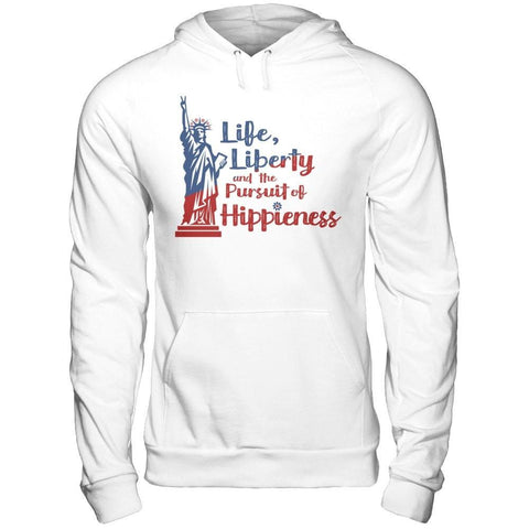 The Pursuit of Hippieness - Unisex Pullover Hoodie