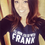 I'll Hook You up with Frank - 3/4 Sleeve Raglan Essential Oil Style young living tshirts funny oil shirts popular oil shirts doterra tshirts convention shirts