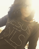 JESUS and OILS: my essentials - 3/4 Sleeve Raglan Essential Oil Style young living tshirts funny oil shirts popular oil shirts doterra tshirts convention shirts