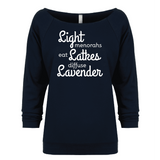 Lights Latkes Lavender - Raglan Essential Oil Style young living tshirts funny oil shirts popular oil shirts doterra tshirts convention shirts