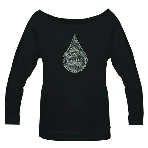 Hand Drawn Essential Oils - 3/4 Sleeve Raglan