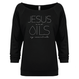 JESUS and OILS: my essentials - 3/4 Sleeve Raglan (Outlet Product) Essential Oil Style young living tshirts funny oil shirts popular oil shirts doterra tshirts convention shirts