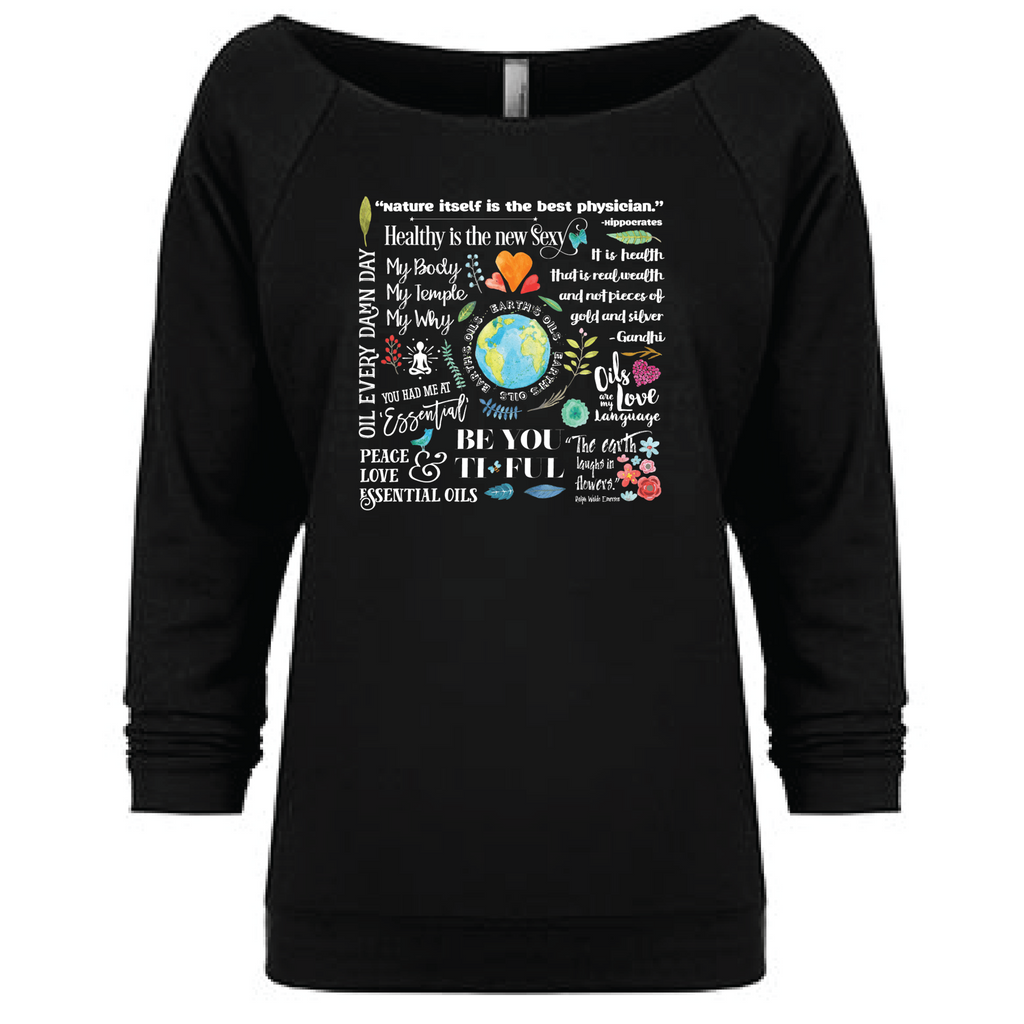 The Oil Lifestyle - 3/4 Sleeve Raglan Essential Oil Style young living tshirts funny oil shirts popular oil shirts doterra tshirts convention shirts