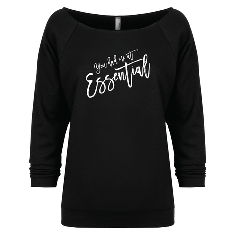 You had me at Essential - 3/4 Sleeve Raglan