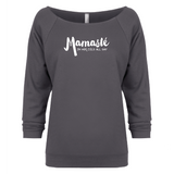 Mamaste - 3/4 Sleeve Raglan Essential Oil Style young living tshirts funny oil shirts popular oil shirts doterra tshirts convention shirts
