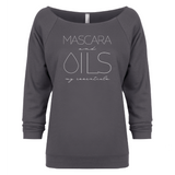 MASCARA and OILS: my essentials - 3/4 Sleeve Raglan Essential Oil Style young living tshirts funny oil shirts popular oil shirts doterra tshirts convention shirts