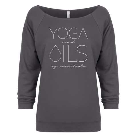 YOGA and OILS: my essentials - 3/4 Sleeve Raglan