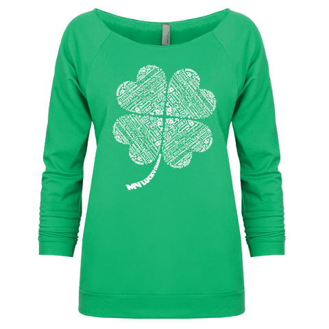 My Lucky Charms ( St. Patricks) -3/4 Sleeve Raglan