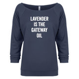 Gateway Oil - 3/4 Sleeve Raglan Essential Oil Style young living tshirts funny oil shirts popular oil shirts doterra tshirts convention shirts