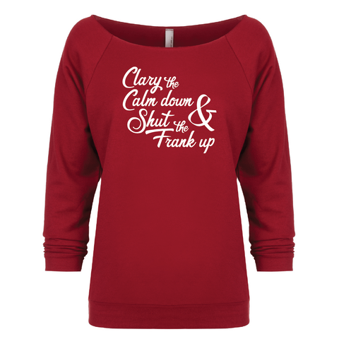 Clary the Calm Down - 3/4 Sleeve Raglan